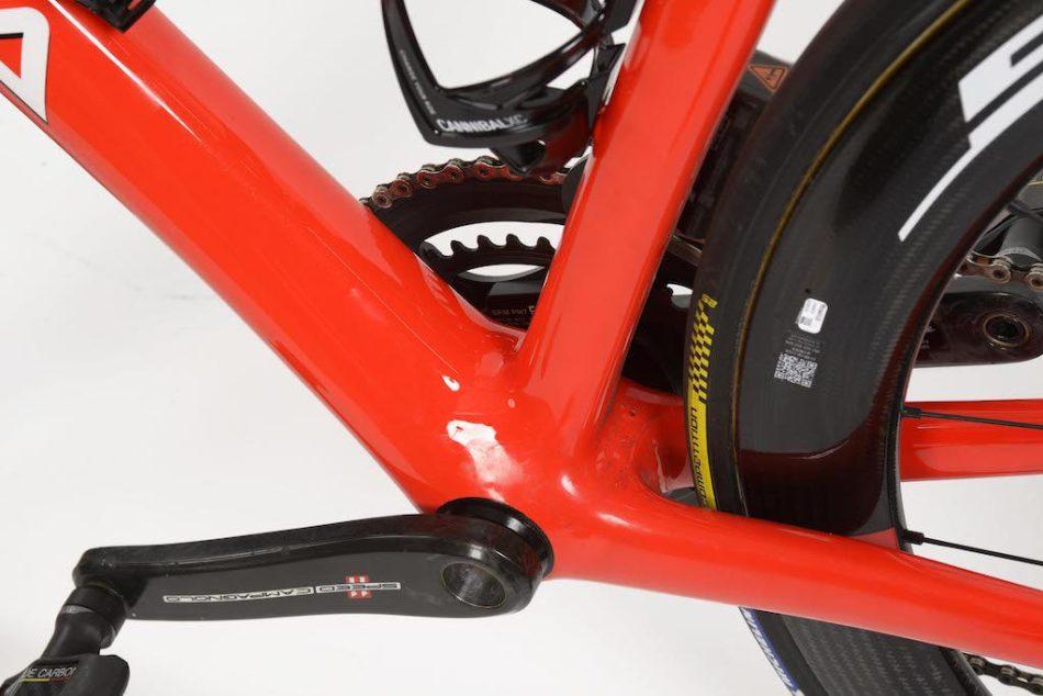 Boîte de pédalier du De Rosa Merak de l'équipe Cofidis Vélos Équipes Pros 2020