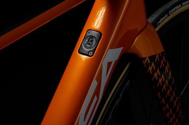 Boîtier Di2 Orbea OMX Fundacion Euskadi Vélos Équipes Pros 2020