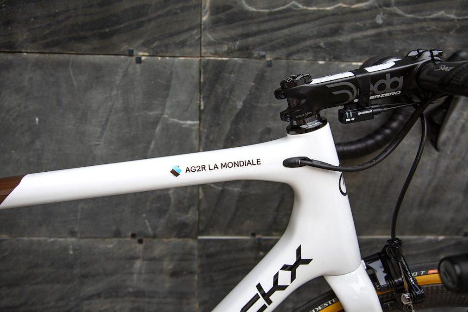 Passage des gaines Eddy merckx Stockeu69 Ag2R Vélos Équipes Pros 2020