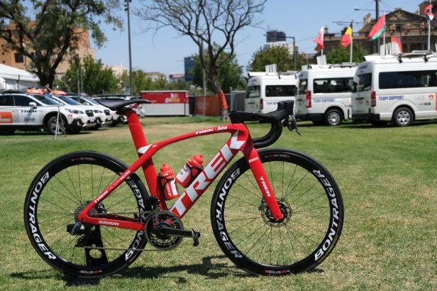 Madone Trek-Segafredo Vélos Équipes Pros 2020