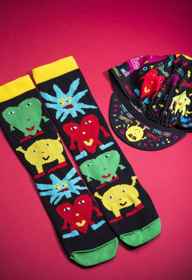 vêtements, chaussettes et casquette Cinelli Bestfriends
