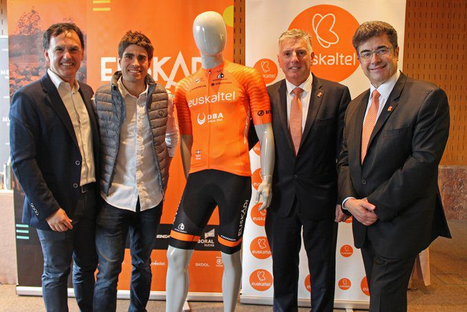 Mikel Landa maillot Euskaltel Fundacion Euskadi