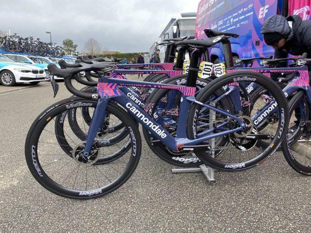 Paris-Nice 2020 Matériel EF Procycling