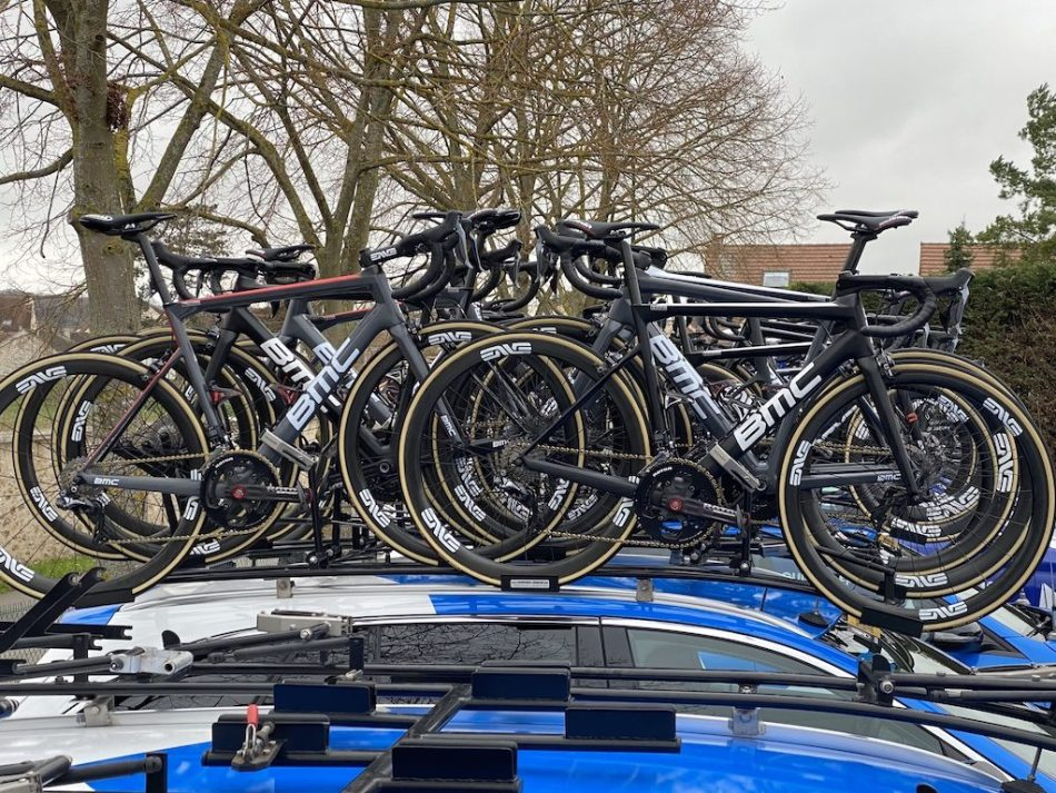 Paris-Nice 2020 Matériel NTT Pro Cycling