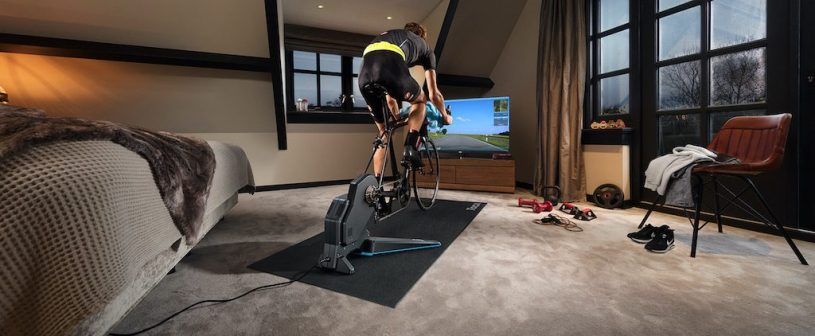 Home-trainer Cyclisme et coronavirus Covid_19