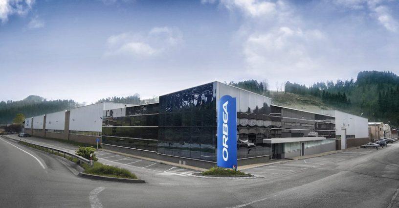 façade de l'usine Orbea à Mallabia