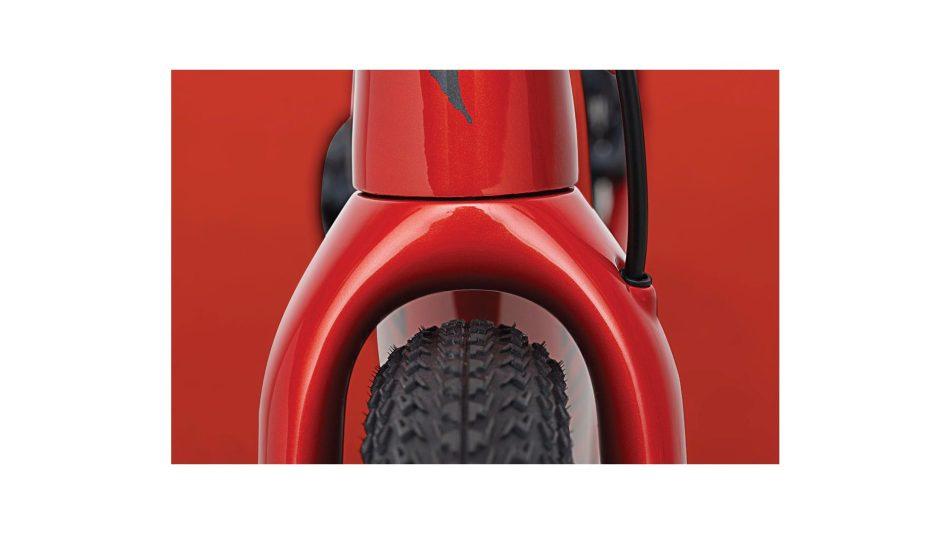 Specialized Diverge 2021 passage du pneu avant