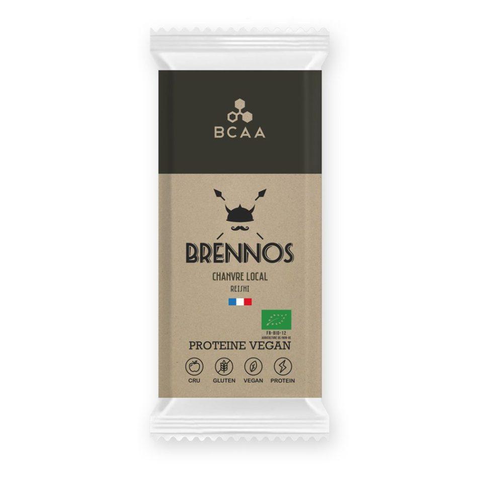 Protéines végétales Brennos barres