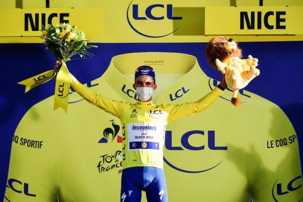 Julian Alaphilippe triomphe sur le Tour 2020