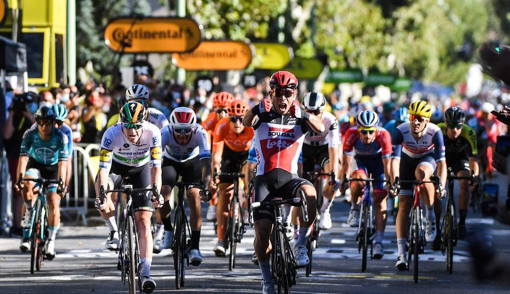 Caleb Ewan gagne à Sisteron sur le Tour de France 2020
