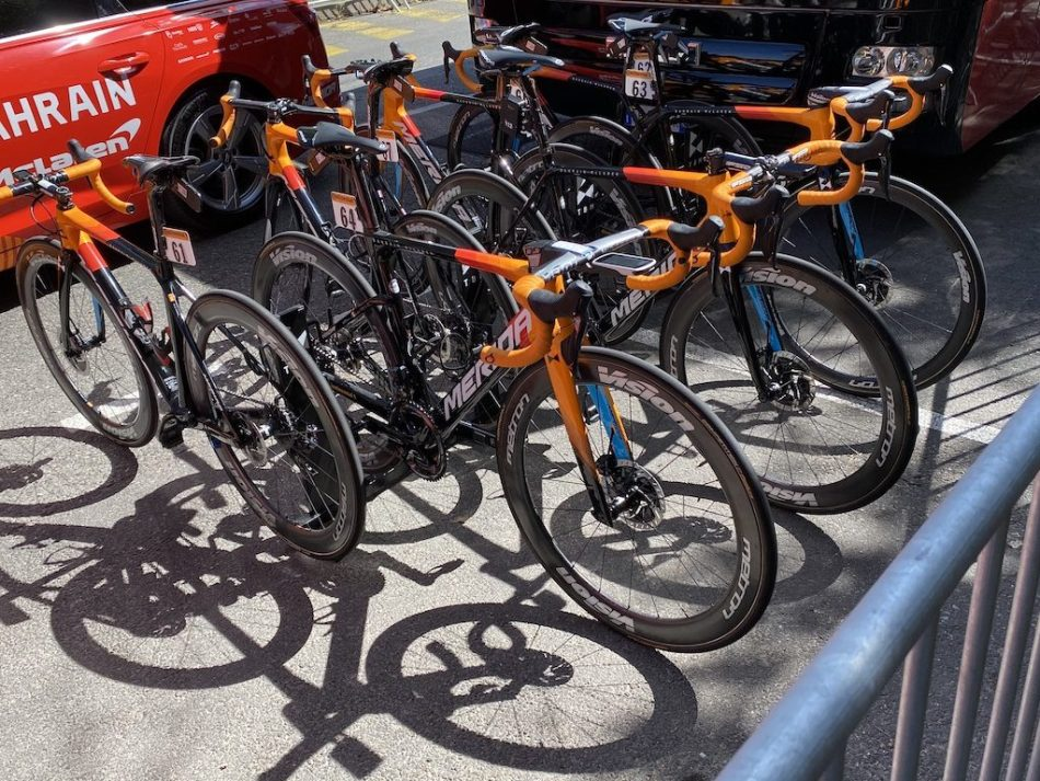 2020 Tour de France matériel Bahrain-McLaren