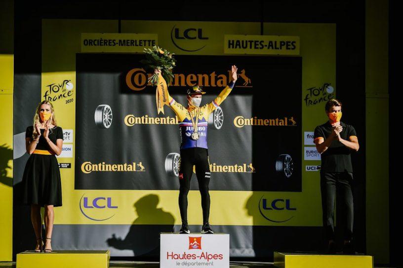 Roglic Orcières-Merlette Tour de France 2020
