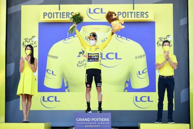 Caleb Ewan Poitiers Tour 2020 Primoz Roglic