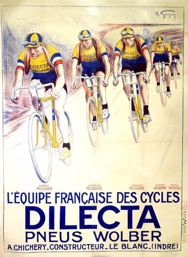 Dilecta propose aussi des vêtements cyclistes (Made in France), pour hommes et femmes, routes et chemins. les maillots commencent à 90 €. Crédit Dilecta