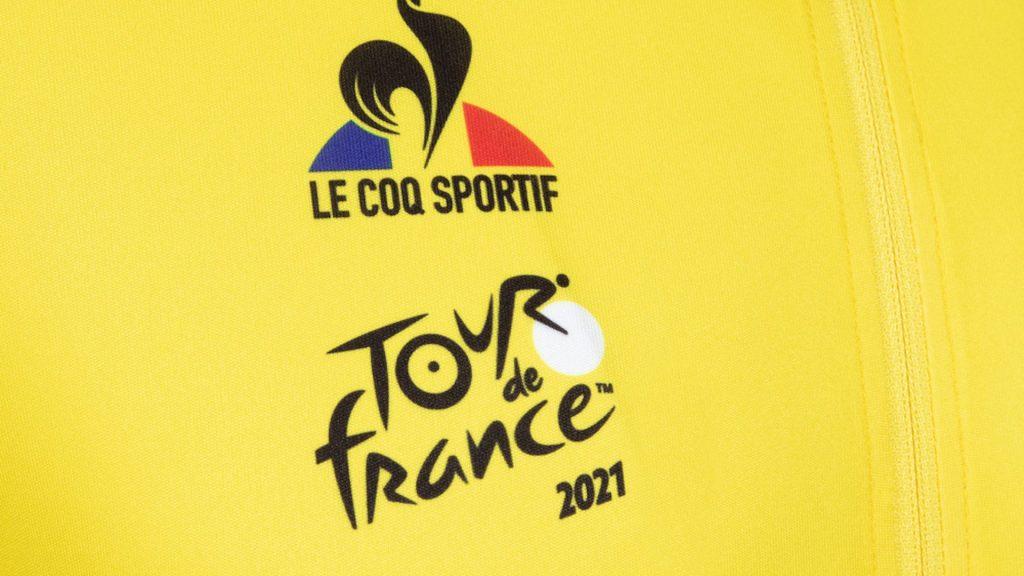 2021 Maillot Jaune Tour de France Le Coq Sportif