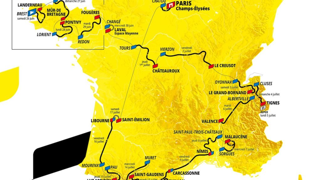 Dossards Tour France 2021