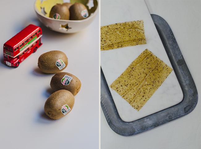 Canelones de kiwi