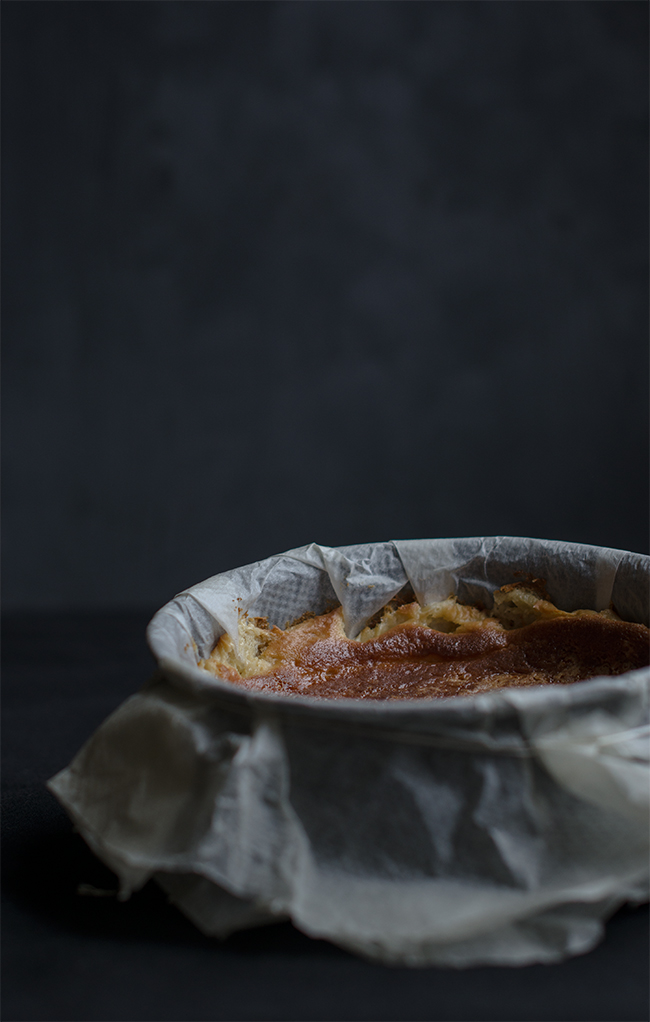 Tarta de queso cremosa La Viña
