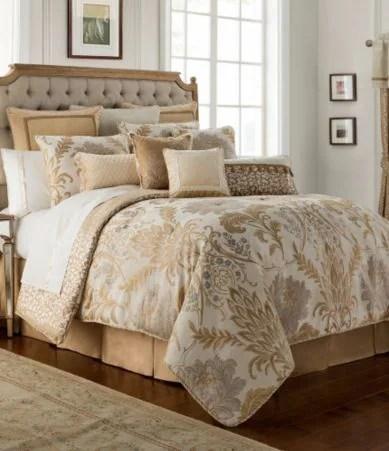 Waterford Ansonia Floral Jacquard Comforter Set Dillards