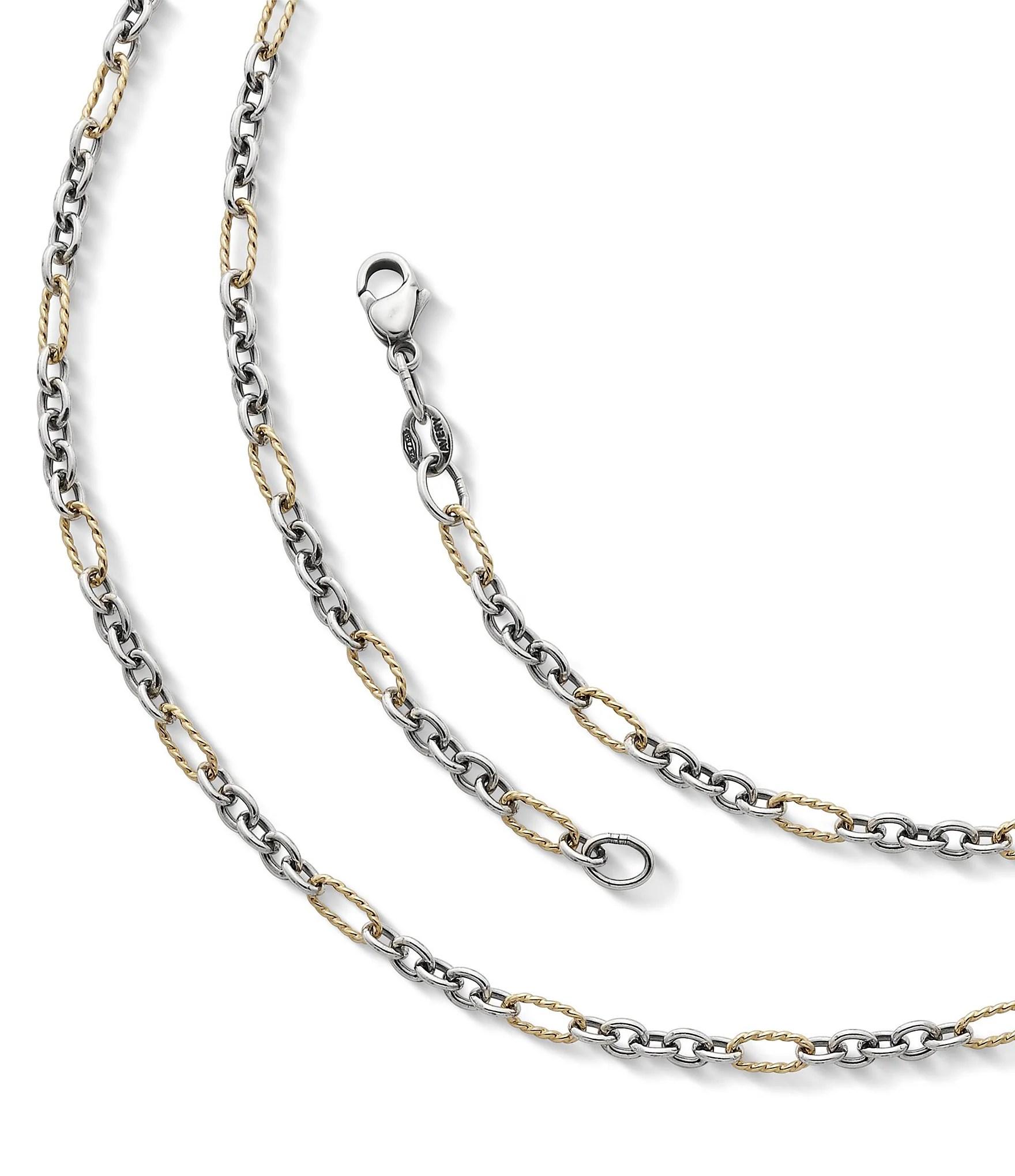 James Avery Jewelry Medium Cable Figaro Chain