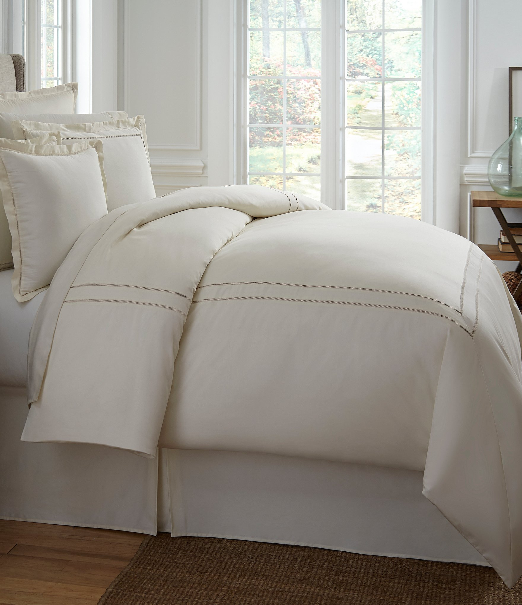 southern living heirloom 500 thread count sateen twill comforter