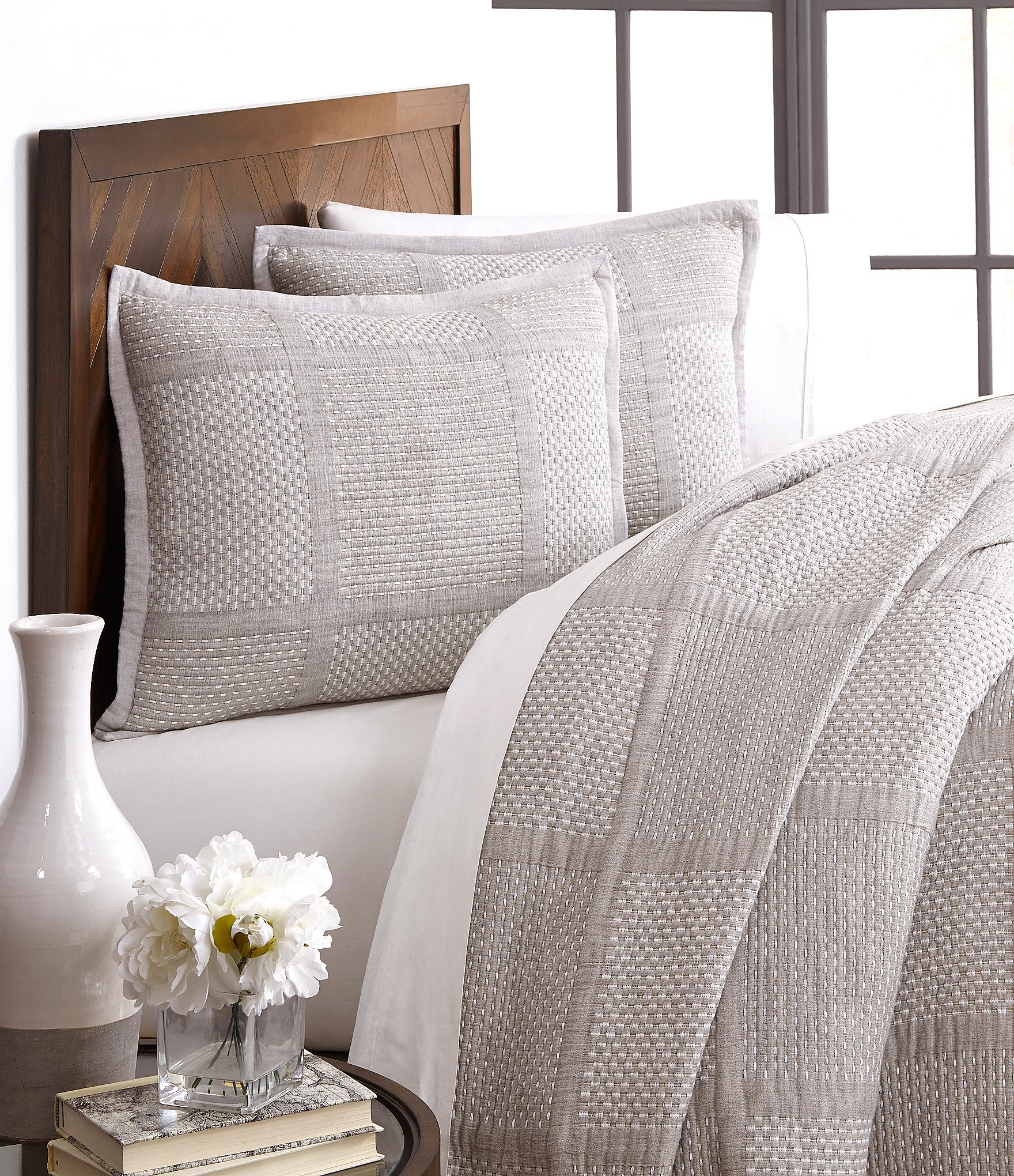 Southern Living Simplicity Collection Mason Coverlet Dillards