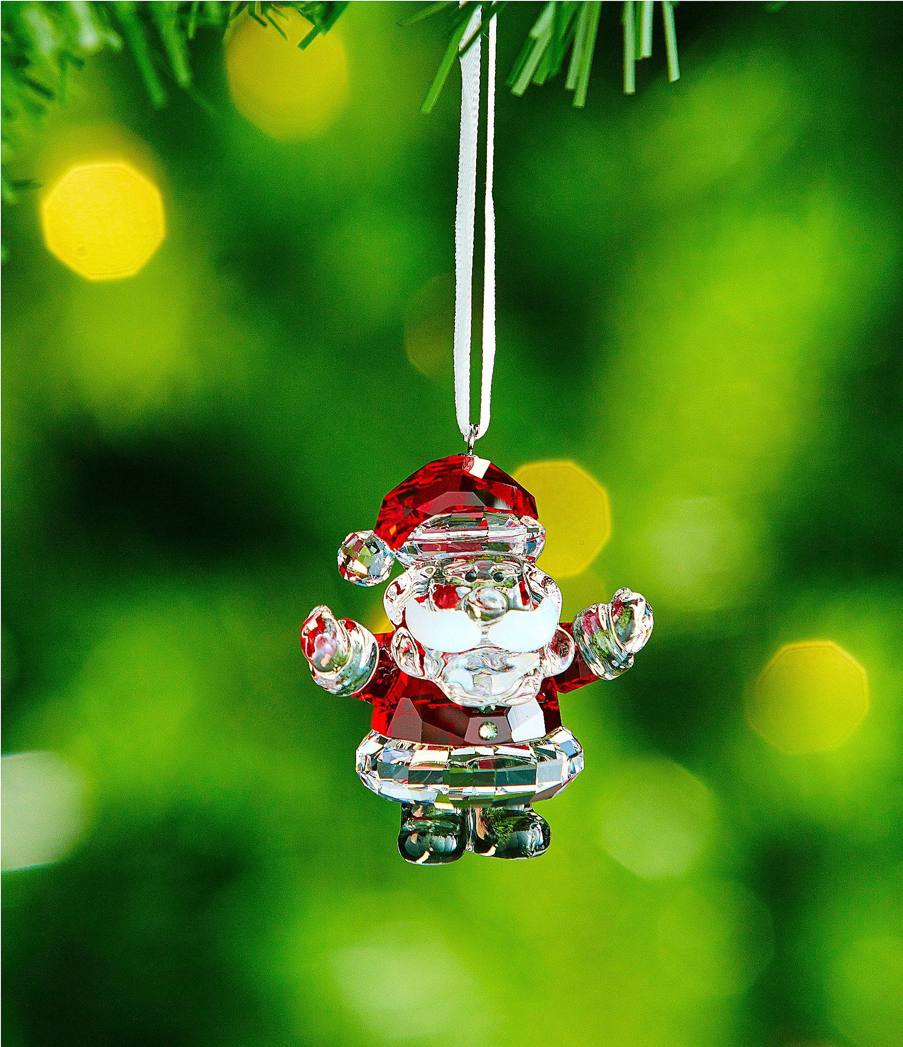 Swarovski Crystal Santa Claus Ornament Dillards