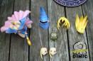 Yu-Gi-Oh - Black Magician Girl (Parts)