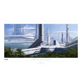 Art Litho - ME3 Earth Alliance
