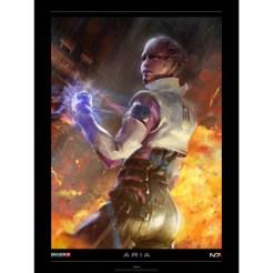 BioWare - Mass Effect 3: Aria lithograph