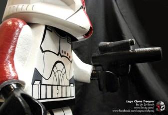 Lego Trooper by Lin Zy Zorn