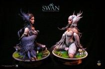 Asmus Toys - Black & White Swans