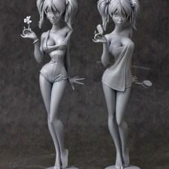 Mandy Statues (Grey)