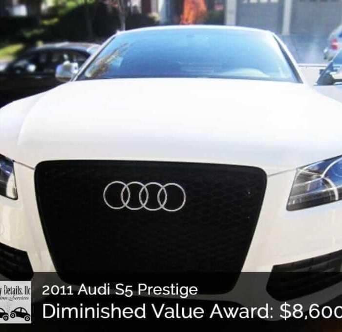2011 Audi S5 California Diminished Value Win!