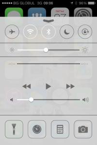 Control Center iOS7