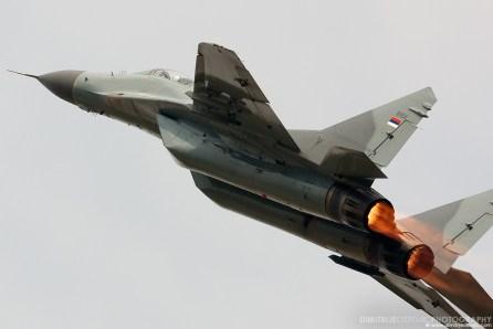 MiG-29 Fulcrum, Serbian Air Force, 101. lae VITEZOVI, Batajnica 2009 © www.dimitrijeostojic.com