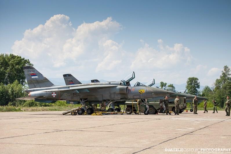 Orao J-22 - 241. attack squadron Tigers / 241. lbae Tigrovi - 98.AB Ladjevci