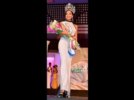 Miss Jamaica World Stirs Racial Debate (1/2)