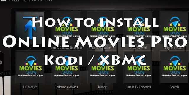 how to install online movies pro addon in kodi / xbmc