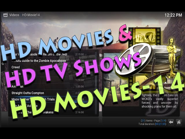 HD TV Shows and MOVIES with HD Movies-14 KODI Addon