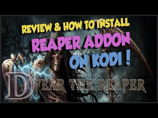 REAPER KODI ADDON – REVIEW & HOW TO INSTALL!