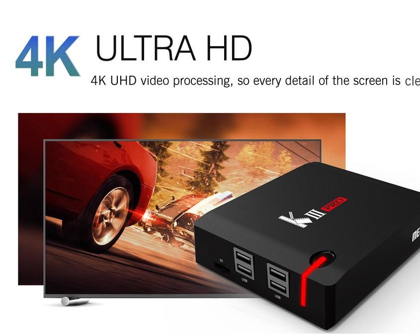 MECOOL KIII PRO Hybrid DVB TV Box 3GB Coupon Sale!
