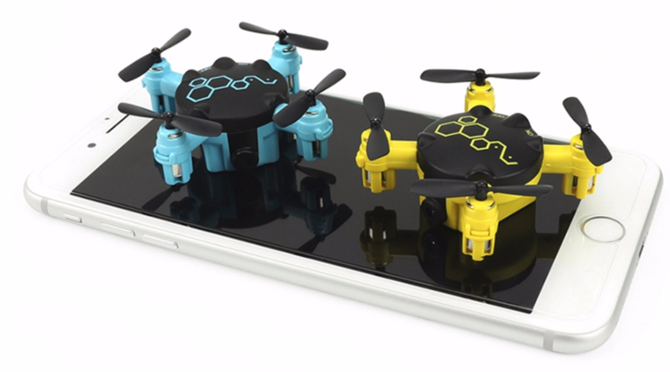 FQ04 BLUE AND YELLOW DRONE