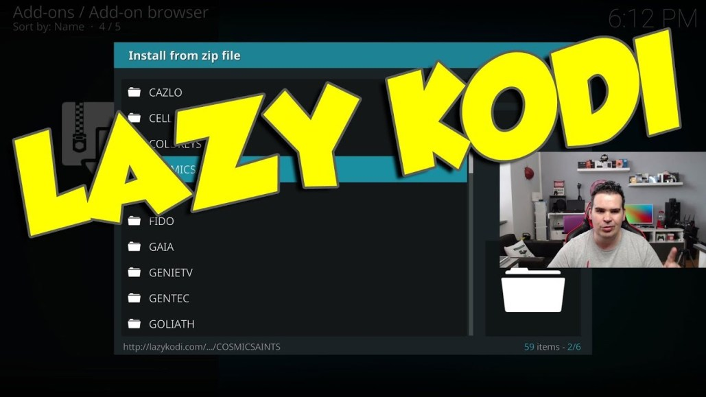 LAZY KODI ONE SOURCE FOR EVERY KODI ADDON AND BUILD !!