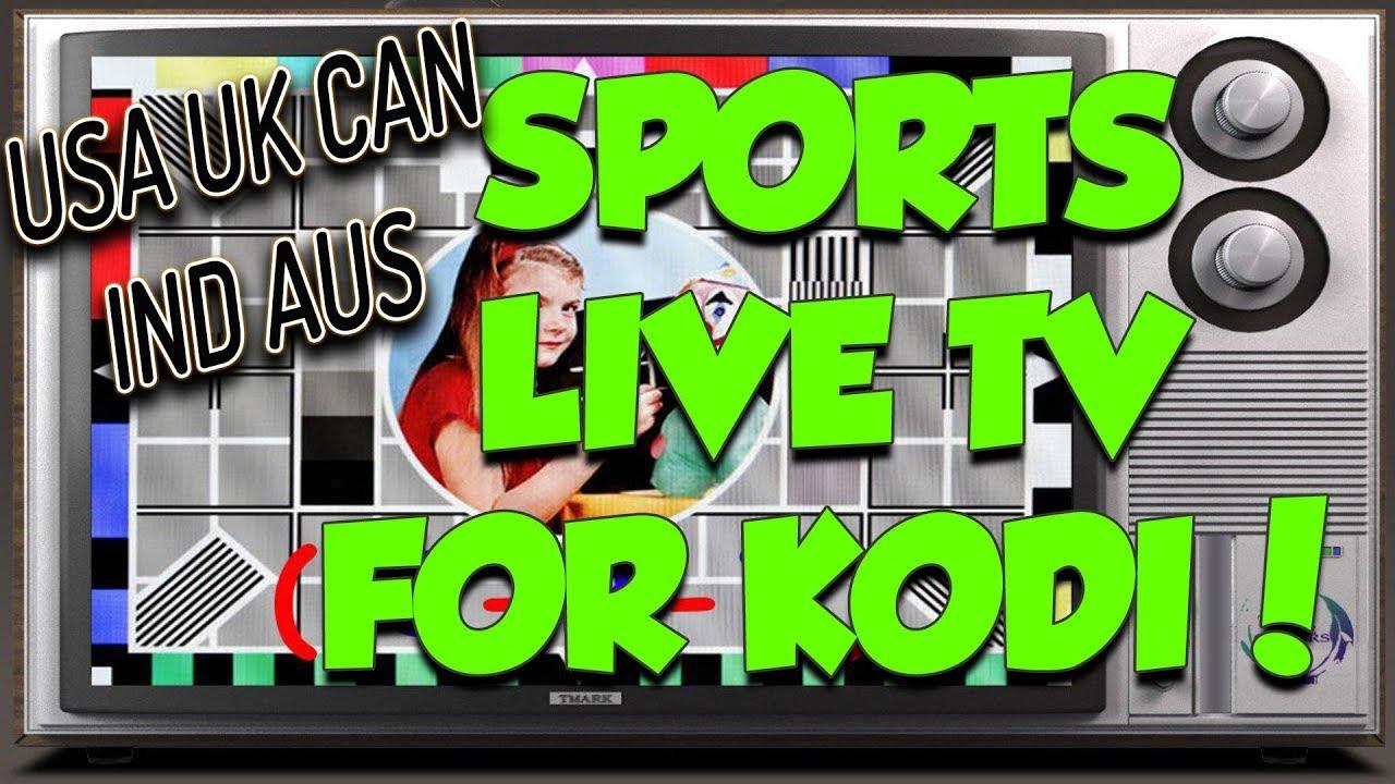 BRAND NEW FREE TV SPORTS KODI ADDON JUNE 2018