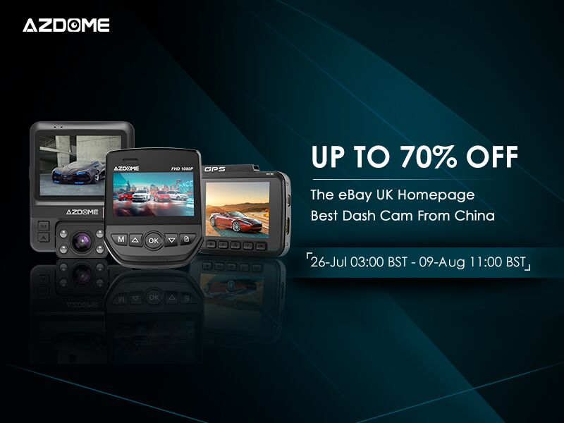 Azdome Ebay Promotion On July 26th Up To 70 Off Dimitrology