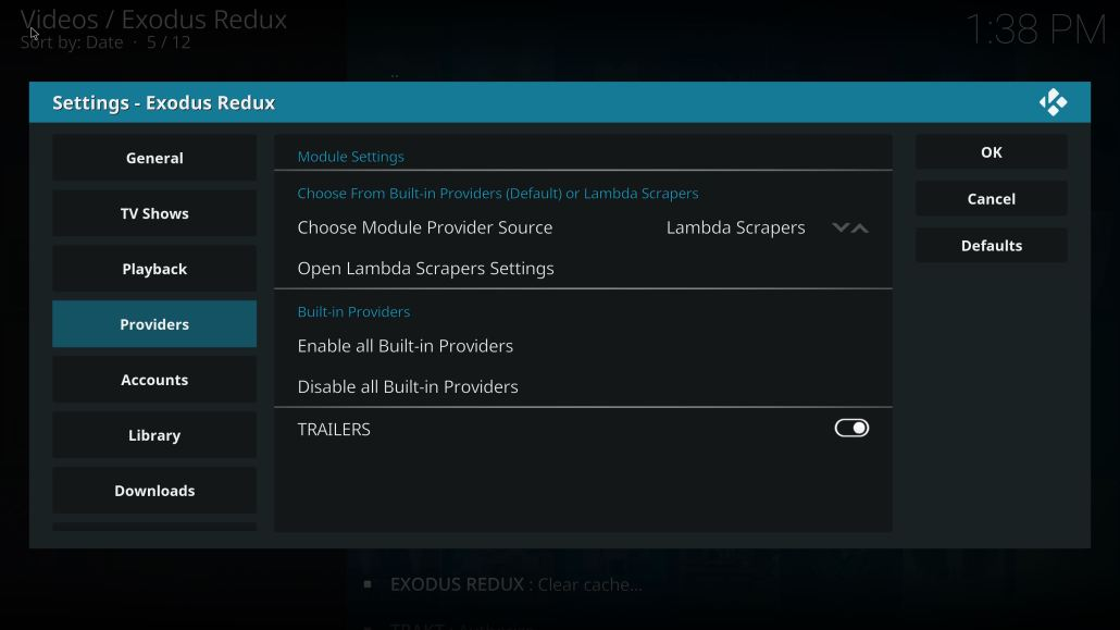 Exodus Redux Lambda Scrapers