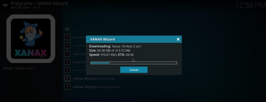 xanax kodi build install