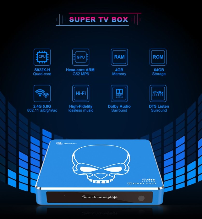 Beelink GT king Pro Android 9 TV Box