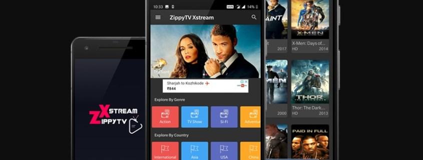 ZippyTV Xstream Apk